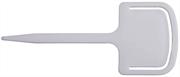 GRINDA 125 мм, 10 шт., набор садовых ярлыков с зажимом 8-422369-H10