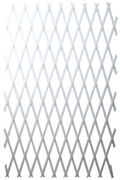 Raco 100 х 200 см, белая ограда садовая 42359-54202W