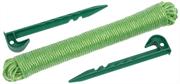 GRINDA 3 шт, набор садовых колышков с веревкой 8-422363-H3