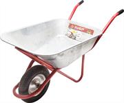 ЗУБР 200 кг, 90 л, одноколёсная, тачка садово-строительная 39901
