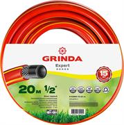 """GRINDA d 1"""" х 20 м, 35 атм., 3-х слойный, армированный, шланг садовый 8-429005-1/2-20_z02"""