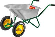 GRINDA 90 л, 180 кг, двухколесная, тачка садово-строительная 422397_z01