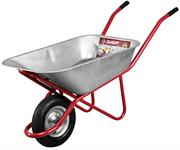 ЗУБР 200 кг, 100 л, одноколёсная, тачка садово-строительная 39903
