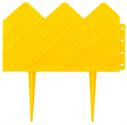 GRINDA 14х310 см, желтый, бордюр декоративный для клумб 422221-Y