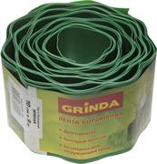 GRINDA 10 см х 9 м, зеленая, лента бордюрная 422245-10