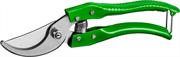 РОСТОК 200 мм, со стальными эргономичными рукоятками, плоскостной секатор 423009
