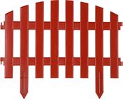 GRINDA 28х300 см, терракот, забор декоративный АР ДЕКО 422203-T
