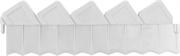 GRINDA 15х288 см, белый, ограждение для клумб 8-422305_z01