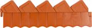 GRINDA 15х288 см, коричневый, ограждение для клумб 8-422303_z01