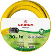 "GRINDA d 1/2"" х 30 м, 30 атм., 3-х слойный, армированный, шланг садовый COMFORT 8-429003-1/2-30_z02"