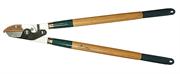 RACO 700 мм, рез до 40 мм, дубовые ручки, 2-рычажный, сучкорез с упорной пластиной 4213-53/272