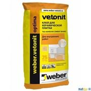 Клей для плитки Weber-Vetonit Optima