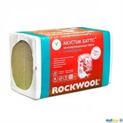 Базальтовая вата Rockwool Акустик Баттс 1000х600х75 мм