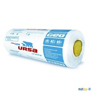 Теплоизоляция из стекловолокна URSA Шумозащита 610x7000x50 мм