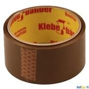 Лента клейкая Klebebander коричневая 40 мк 57000х50 мм