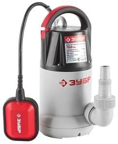 ЗУБР 750 Вт, 250 л/мин, насос погружной для чистой воды ЗНПЧ-750