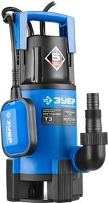 Насос Т3 погружной, ЗУБР Профессионал НПГ-Т3-900, дренаж. для грязной воды (d частиц до 35мм), 900Вт,пропуск способн 240л/мин,напор 8.5м, провод 10м