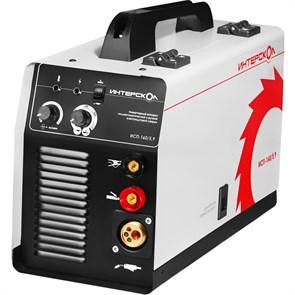Интерскол ИСП-160/5,9 инверторный аппарат полуавтоматической сварки Mig-Mag и ручной электродуговой сварки ММА  263.1.0.00