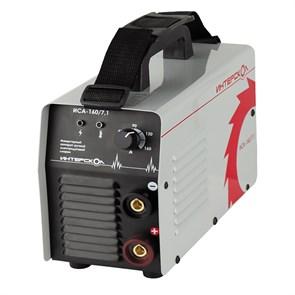 Интерскол ИСА-160/7,1 аппарат инверторный ручной электродуговой сварки ММА  413.1.0.00