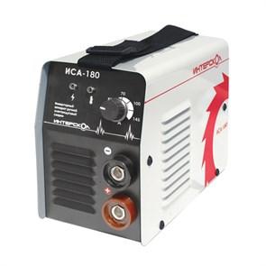 Интерскол ИСА-180 аппарат инверторный ручной электродуговой сварки ММА  431.1.0.00