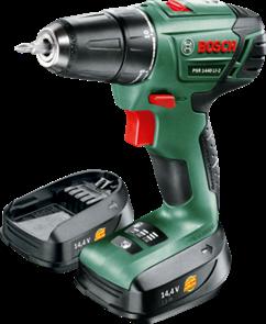 BOSCH PSR 1440 LI-2 аккумуляторная дрель-шуруповерт 0.603.9A3.021