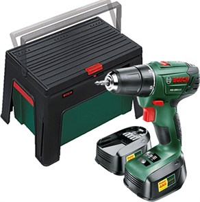 BOSCH PSR 1800 Li-2+ ящик WorkBox, дрель-шуруповерт аккумуляторная  0.603.9A3.10P