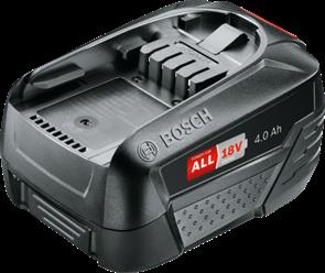 BOSCH PBA 18  4 А*ч, аккумулятор 1600A011T8