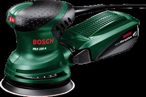 BOSCH PEX 220 A, эксцентриковая шлифовальная машина 0.603.378.020