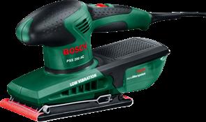 BOSCH PSS 200 AC, вибрационная шлифовальная машина 0.603.340.120