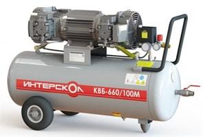Интерскол КВБ-660/100М компрессор воздушный безмасляный 297.1.0.00