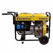Генератор дизельный CHAMPION  DG6501E