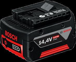 BOSCH Аккумулятор Li-ion 14,4 В; 4,0 Ач, батарея аккумуляторная Li-Ion, 1600Z00033