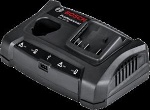 BOSCH GAX 18V-30, зарядное устройство аккумуляторное Li-Ion, 1600A011A9
