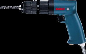 BOSCH дрель 6 мм, БЗП, пневматическая, 0607160502