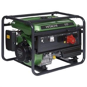 HITACHI E57S, генератор бензиновый с электростартером
