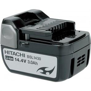 HITACHI BSL1430, АКБ (14.4В, 3Ач, Li-Ion, слайдерный)