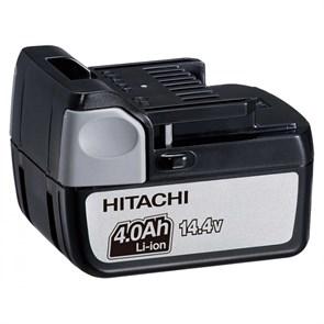 HITACHI BSL1440, АКБ (14.4В, 4Ач, Li-Ion, слайдерный)