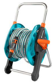 GARDENA Classic 50 катушка со шлангом и комплектом фитингов для подключения  (02691-20.000.00)