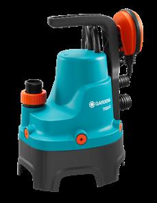 GARDENA 7000/D  насос дренажный для грязной воды  (01665-20.000.00)