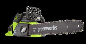 GreenWorks GD40CS40, цепная пила аккумуляторная, 40 см, бесщеточная, без АКБ и ЗУ