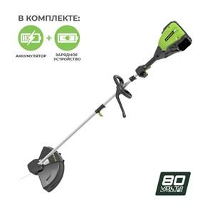 Greenworks GD80BCK4, триммер аккумуляторный