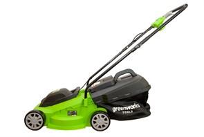 Greenworks , GLM1232, газонокосилка электрическая