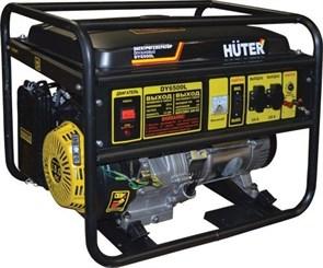 Электрогенератор DY6500L Huter