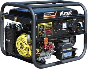 Электрогенератор DY8000LXA (с АВР) Huter