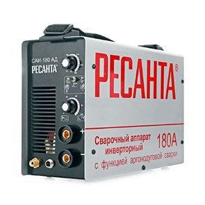 Сварочный аппарат инверторный САИ- 180АД (аргонодуговой) Ресанта