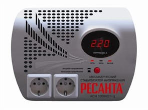 Ресанта АСН-1 000 Н2/1-Ц стабилизатор релейный