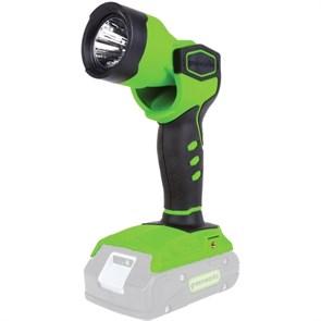 Greenworks G24WL, фонарь аккумуляторный