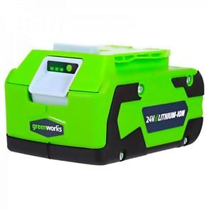 Аккумулятор Greenworks G24B4, 24V, 4 А.ч