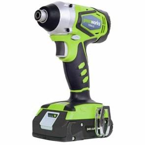 Greenworks G24ID, шуруповерт ударный аккумуляторный