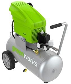 Greenworks GAC24L, компрессор электрический, 8 bar